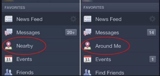 Facebook Friends Near Me