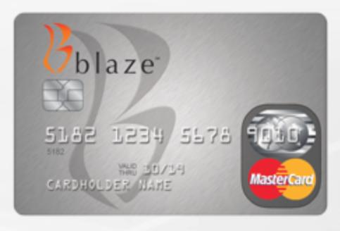 Blaze credit card