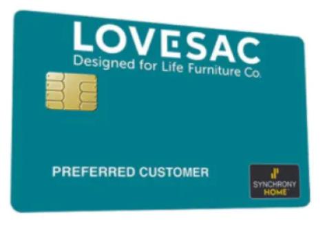 Lovesac Credit Card